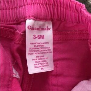 Baby Girl Hot Pink Shorts